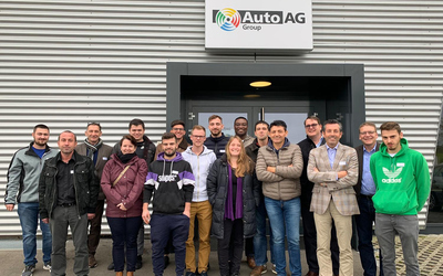 Traditioneller Welcome Day bei der Auto AG Group